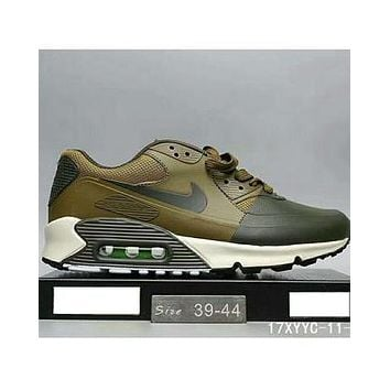 Nike MAX 90 ULTRA AIR and waffle new men and women fashion casual shoes F-HAOXIE-ADXJ Army green