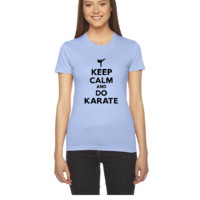 keep calm and do karate - Women's Tee