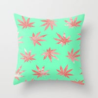Bloom Throw Pillow by Bri Delasole | Society6