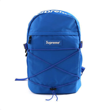 "Blue ""Cool"" Backpack"