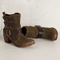 Anthropologie - Baxter Suede Mid-Boots