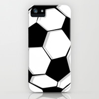Soccer iPhone & iPod Case by An Luong