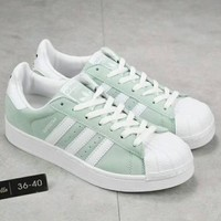 Day-First™ Adidas Shell-Toe Women Sneakers Shoes H-A36H-MY