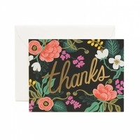 Birch Floral Greeting Card by RIFLE PAPER Co. | Made in USA
