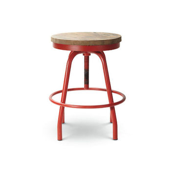 Red Diner Stool