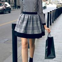 cliovers | Mini houndstooth dress | Online Store Powered by Storenvy
