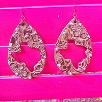 Cactus & Lace Earrings