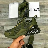 shosouvenir NIKE AIR MAX 270 TRIPLE OLIVE MEN SHOES