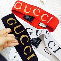 GUCCI Fashion Trending Sport Crochet Knit Headwrap Headband Warmer Head Hair Band G