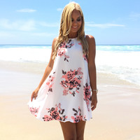 Sweet As Can Be Floral Shift Dress