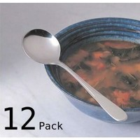 Endurance Flatware-Montys Soup Spoons - Set of 12