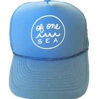 Kid's Sky Blue Foam Trucker Hat