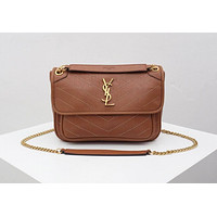 ysl women leather shoulder bags satchel tote bag handbag shopping leather tote crossbody 16