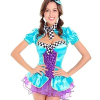 MOONIGHT Women Adult Alice In Wonderland Costume Carnival Hot Fancy Dress Halloween Sexy Costumes Cosplay For Women Girl Macchar Cosplay Catalogue