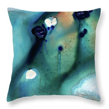 Abstract Art - Hands To Heaven - Sharon Cummings Throw Pillow