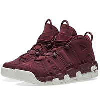Nike Men's Air More Uptempo 96 QS, NIGHT MAROON/NIGHT MAROON-SAIL