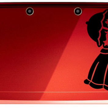 Super Princess Peach Decal for 3DS OR 3DS XL