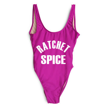 Ratchet Spice One Piece Swimsuit