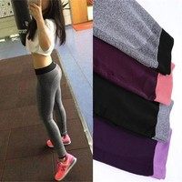 Sport Yoga Pants Women Fitness Yoga Leggings Gym Running Tights Workout Training Sportswear Sport Jogging Femme Elastic Trousers