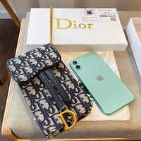 Dior Oblique Chain bag Cell phone bag