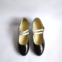 Biba Mary Janes Two Straps heels (Handmade to order)