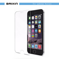 tempered glass For iphone 4s 5 5s 5c SE 6 6s plus 7 plus screen protector protective guard film front case cover +clean kits