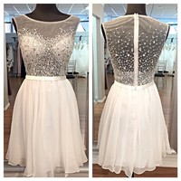 Tulle Homecoming Dresses pst2018