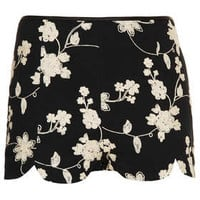 Black Embroidered Shorts - New In This Week  - New In