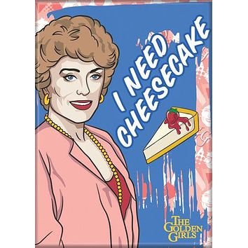 The Golden Girls Blanche Magnet