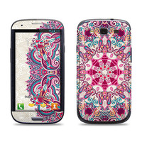 Samsung Galaxy S3 Phone Case Cover Decal - Floral Pattern