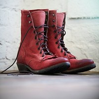 Vintage Shoe Company Womens Galveston Field Boot -