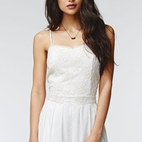Kendall & Kylie Lace Romper - Womens Dress - White