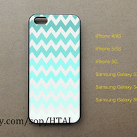 Blue Chevron iPhone 5 Case iphone 4/4S case iphone 5S/5C case samsung galaxy S3 S4 S5 case