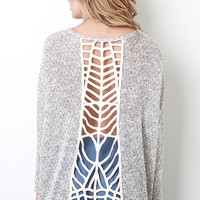 Knit Caged Back Top