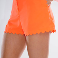 ARK&CO: Catching Your Eye Shorts: Neon Orange