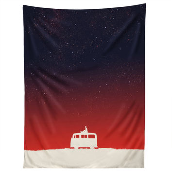 Budi Kwan Quiet Night And Starry Sky Tapestry