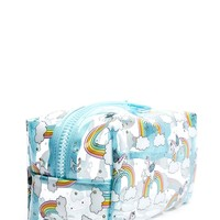 Unicorn Print Makeup Bag