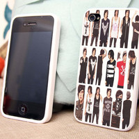kellin quinn college iphone case, iphone 4/4s/5/5s/5c and samsung s2/s3/s4 case