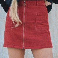 Can't Compare Corduroy Skirt