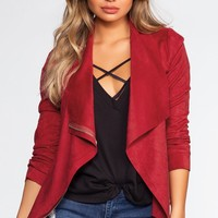 We Found Love Suede Jacket