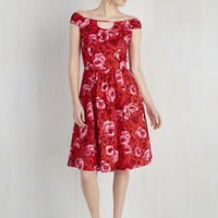 Mid-length Sleeveless A-line Of Date Importance Dress