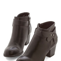 ModCloth Urban Week In, Sleek Out Bootie