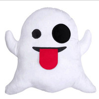 Stuffed Emoji Pillows Cushions Soft Plush Toys Doll Gifts