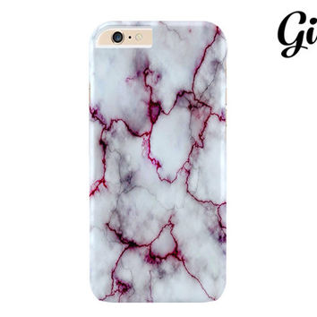 Red Marble case Design hard back case cover for Apple iPhone 6 Plus, 6 4.7, iPhone 5 5s, iPhone 5c, 4 4s, Gray marble Galaxy S5 S4 S3 Note 3