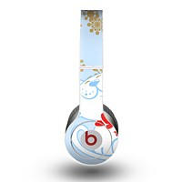 The Happy Winter Cartoon Cat Skin for the Beats by Dre Original Solo-Solo HD Headphones