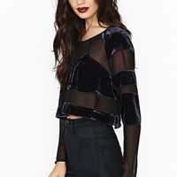 Nasty Gal Collection Chimera Crop Top