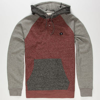 Billabong Balanced Mens Hoodie Red Combo  In Sizes
