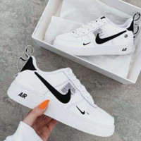 NIKE AIR FORCE 1 AF1 OW Running Sports Shoes Sneakers