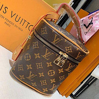 LV Louis Vuitton Fashion classic print bucket bag makeup bag handbag one shoulder cross-body bag