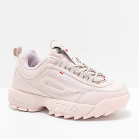 FILA Disruptor II Pink Shoes | Zumiez